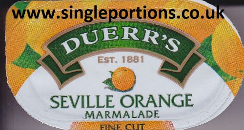 DUERR'S - Seville Orange fine cut Marmalade portions